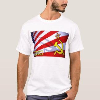 T-shirt Drapeau crépusculaire de lutte