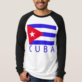 T-shirt Drapeau cubain