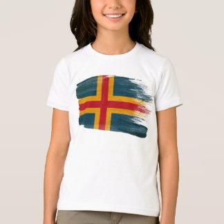 T-shirt Drapeau d'Aland
