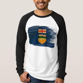 T-shirt Drapeau d'Alberta