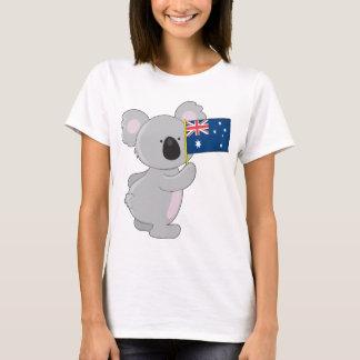 T-shirt Drapeau d'Australien de koala