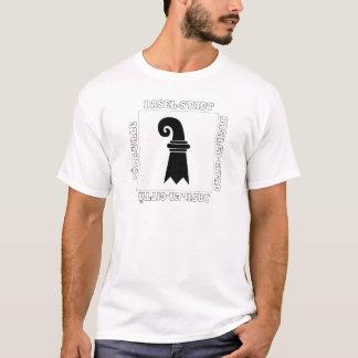 T-shirt Drapeau de Bâle Stadt Suisse