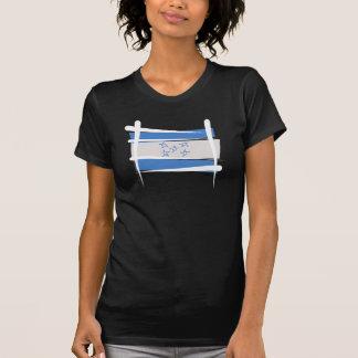 T-shirt Drapeau de brosse du Honduras