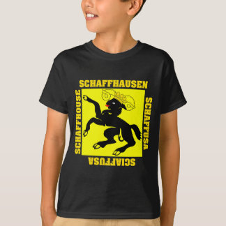 T-shirt Drapeau de canton de Schaffhausen Suisse