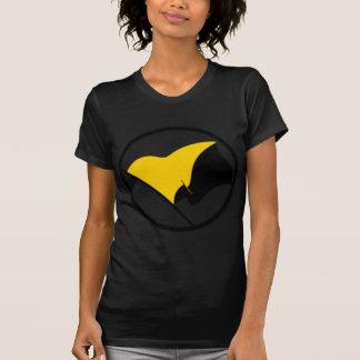 T-shirt Drapeau de capitalisme d'Anarcho