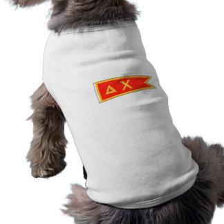 T-shirt Drapeau de Chi de delta