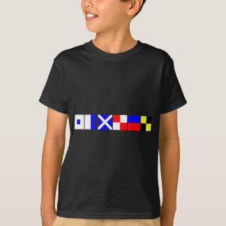 T-shirt Drapeau de code Samuel