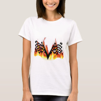 T-shirt Drapeau de course