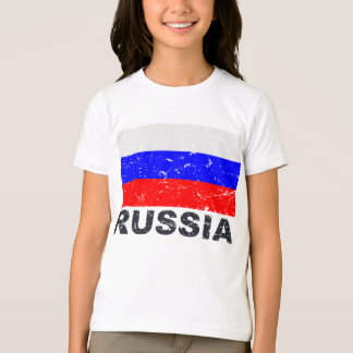 T-shirt Drapeau de cru de la Russie