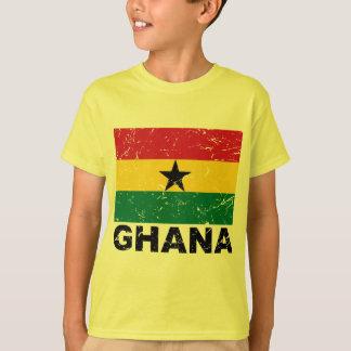 T-shirt Drapeau de cru du Ghana