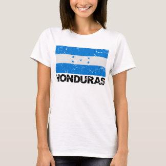 T-shirt Drapeau de cru du Honduras
