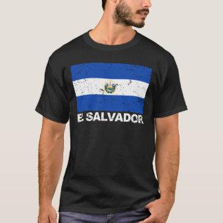 T-shirt Drapeau de cru du Salvador