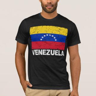 T-shirt Drapeau de cru du Venezuela