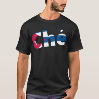 T-shirt Drapeau de Cubain de Che Guevara