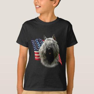 T-shirt Drapeau de DES Flandres de Bouvier