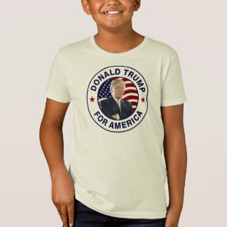 T-Shirt Drapeau de Donald Trump USA