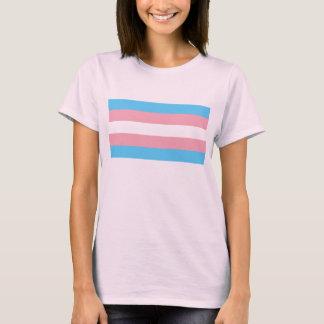 T-shirt Drapeau de fierté de transsexuel