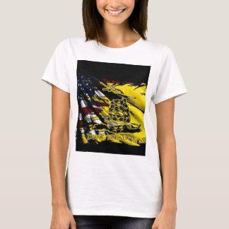 T-shirt Drapeau de Gadsden - liberté ou mort