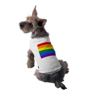 T-shirt Drapeau de gay pride d'arc-en-ciel