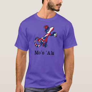 T-shirt Drapeau de Gecko d'Hawaï