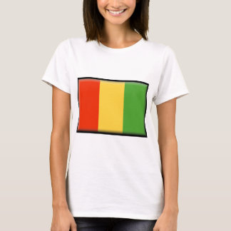T-shirt Drapeau de Guinée