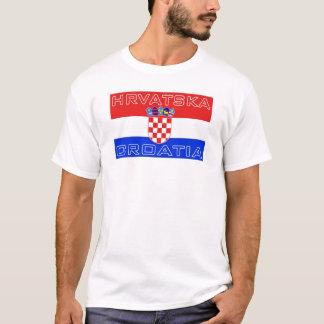 T-shirt Drapeau de Hrvatska de Croate de la Croatie