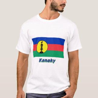 T-shirt Drapeau de Kanaky avec le nom