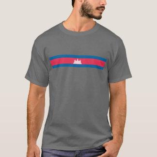 T-shirt Drapeau de Khmer