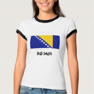 T-shirt Drapeau de la Bosnie