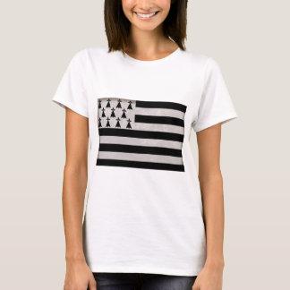 T-shirt Drapeau de la Bretagne