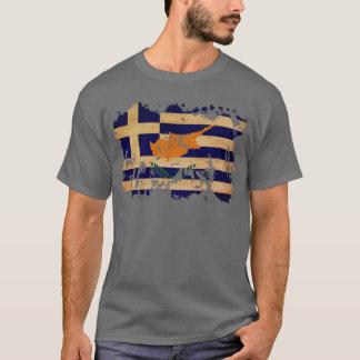 T-shirt Drapeau de la Chypre de Grec