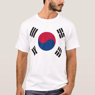 T-shirt Drapeau de la Corée du Sud
