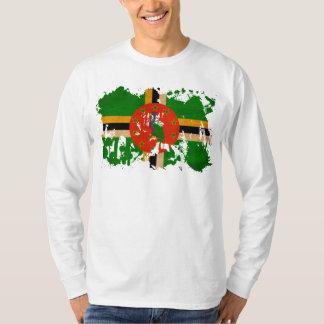 T-shirt Drapeau de la Dominique
