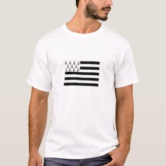 T-shirt Drapeau de la France la Bretagne