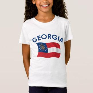 T-Shirt Drapeau de la Géorgie