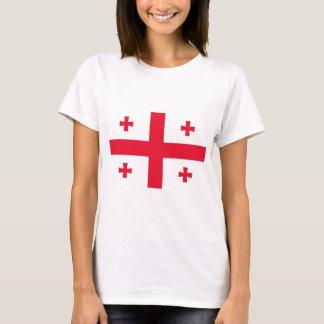 T-shirt Drapeau de la Géorgie (pays)