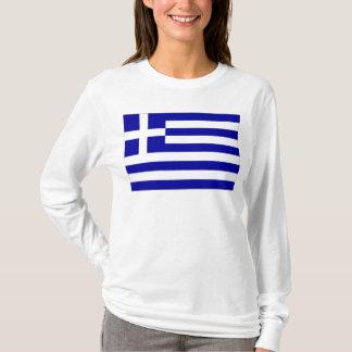 T-shirt Drapeau de la Grèce
