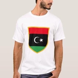 T-shirt Drapeau de la Libye