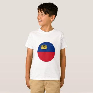 T-shirt Drapeau de la Liechtenstein