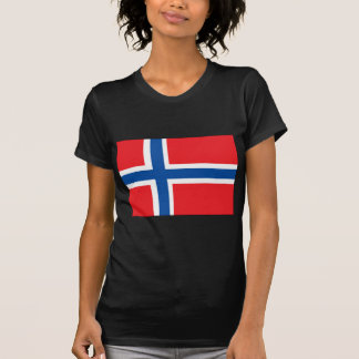 T-shirt Drapeau de la Norvège