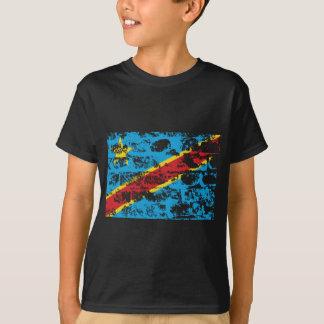 T-shirt Drapeau de la République démocratique du Congo