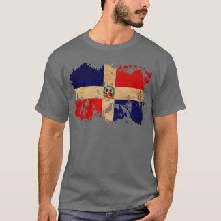 T-shirt Drapeau de la République Dominicaine