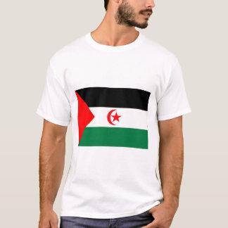 T-shirt Drapeau de la Sahara occidental