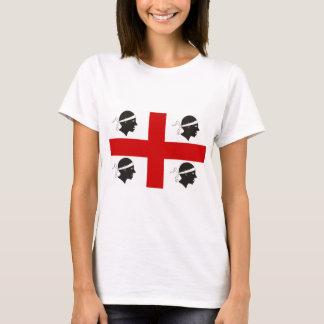 T-shirt Drapeau de la Sardaigne, Italie