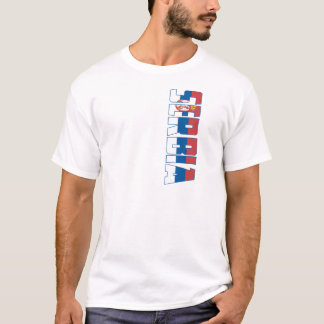 T-shirt Drapeau de la Serbie