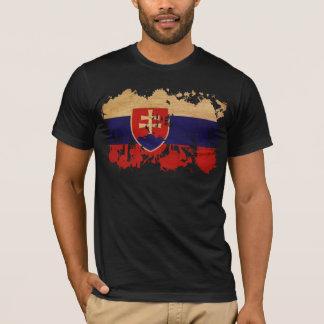T-shirt Drapeau de la Slovaquie