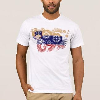 T-shirt Drapeau de la Slovénie