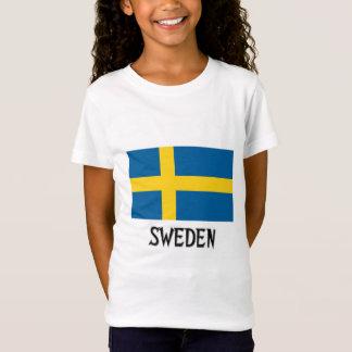 T-Shirt Drapeau de la Suède