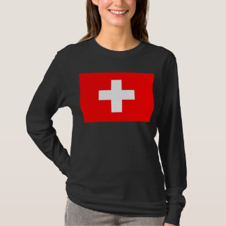 T-shirt Drapeau de la Suisse