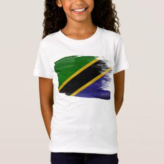 T-Shirt Drapeau de la Tanzanie